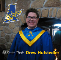 Drew Hufstedler Makes All-State Choir