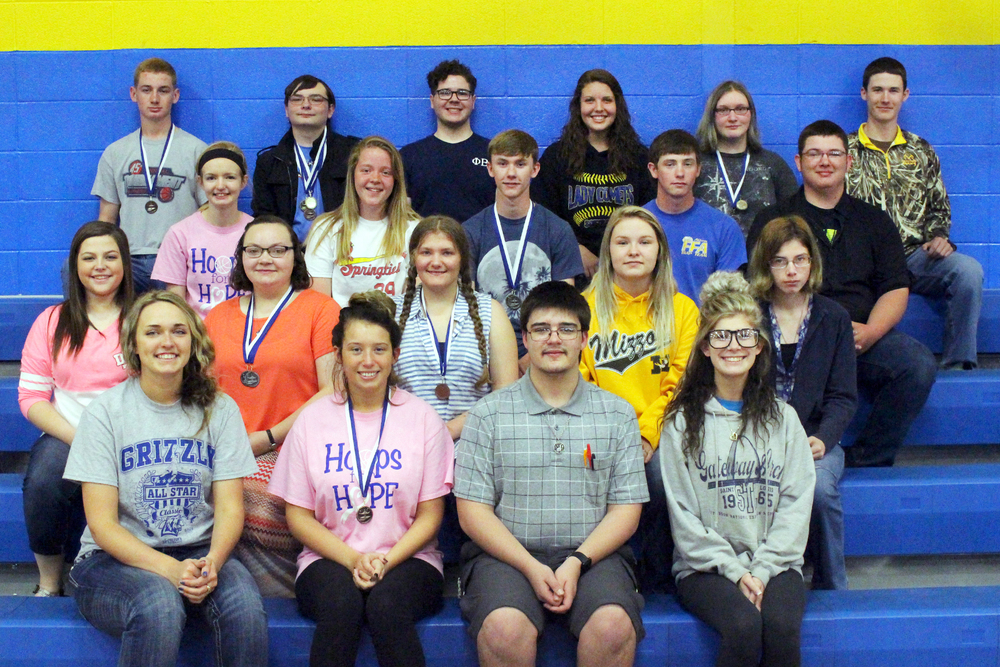 Interscholastic Team Takes 15 Medals at Competition